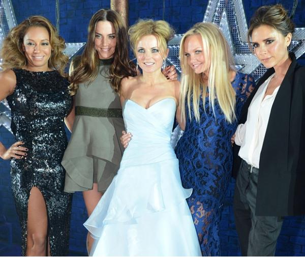 Spice Girls em votações no site de Ryan Seacrest - http://ryanseacrest.com/