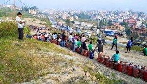 Embargo de l'Inde sur le Népal