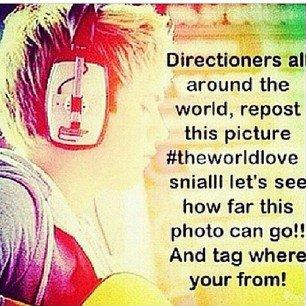 Directioners, remixez !!! Faites-le pour Niall :D