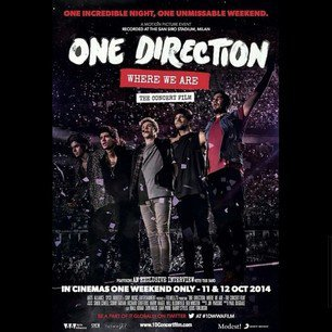 L'affiche du concert filmé du WWAT. Vous allez voir le film au cinéma ou vous attendez le DVD ? :)