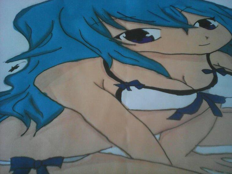 J'ai fini le dessin que j'avais commencer en cours . des avis ?