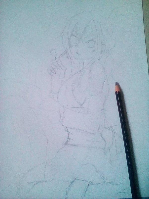 Début de dessin *^*