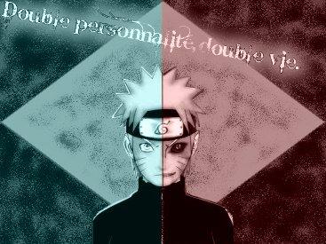 OS Sasunaru : Double personnalité, double vie.