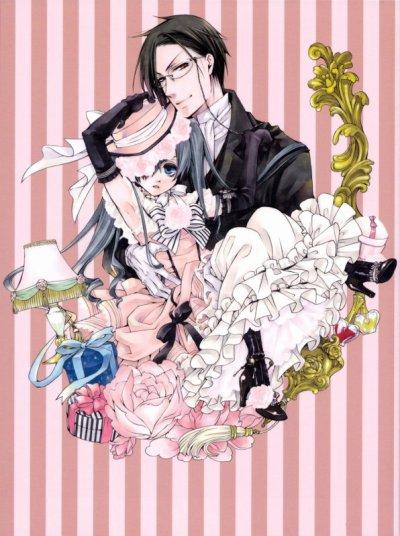 Agenda sorties mangas Pix : Kuroshitsuji