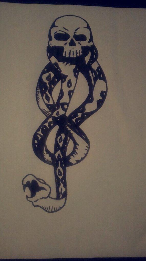 4 e dessin pour un tatouage