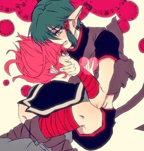 Kisshu x Ichigo