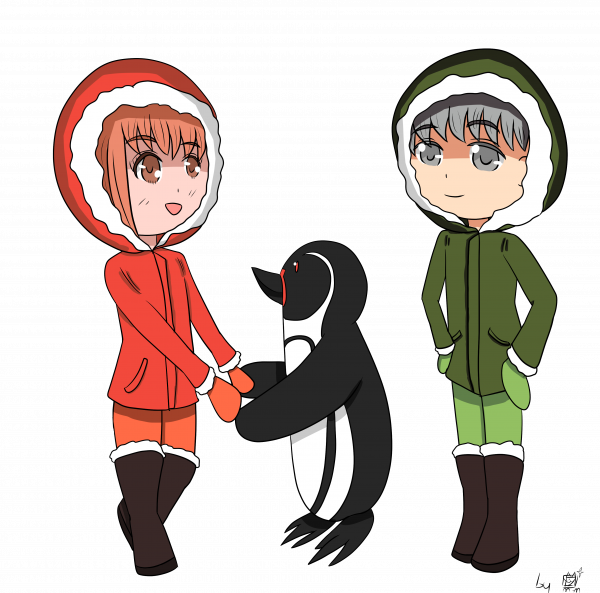 Mewcember 18 - Banquise ? Non, Pingouin