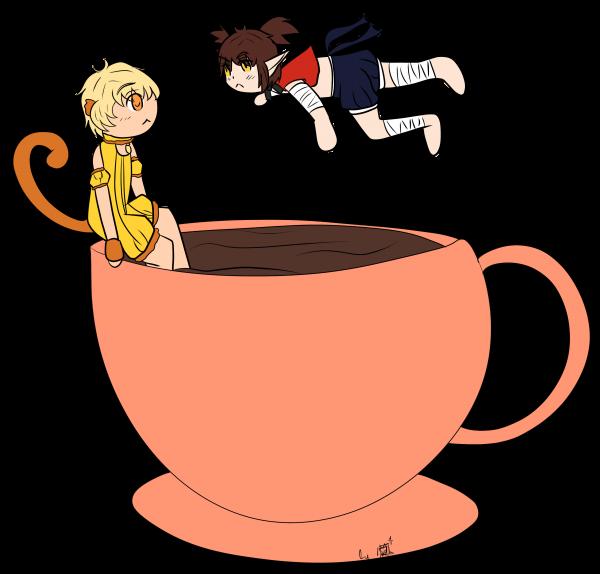Mewcember 19 - Chocolat chaud