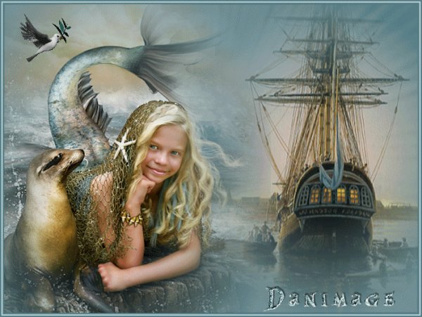 Sirène gardienne des océans
