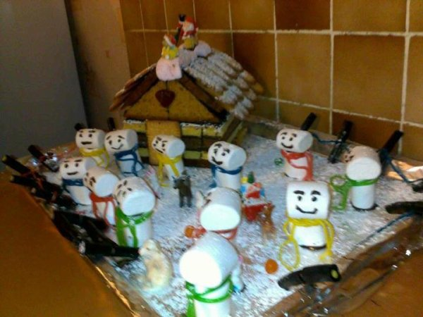 La maison des Bonhommes de Neige
