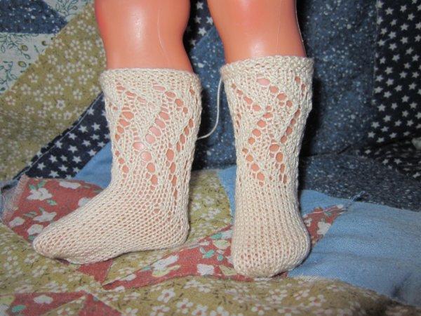 Chaussettes pour poupées