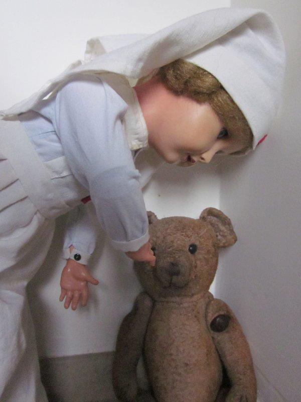 Oscar passe chez l'infirmière.