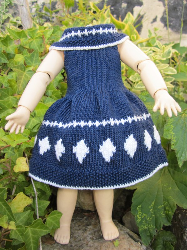 Des robes pour notre jolie bleuette.