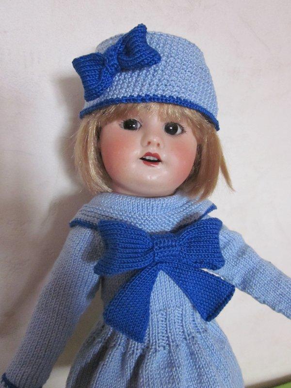 """""""Promenade hiver 1935 1936"""" pour bleuette"""