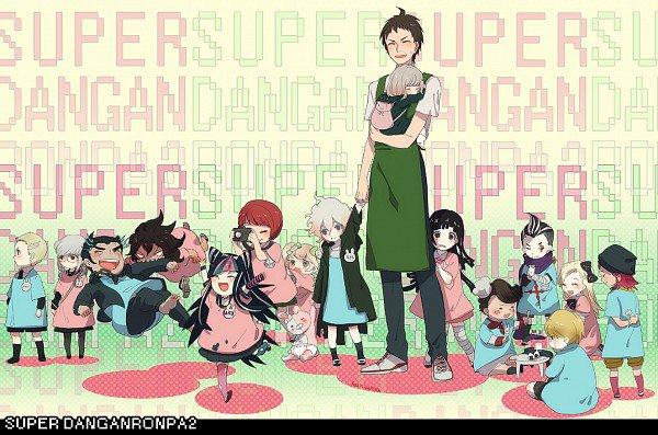 DanganRonpa 2 quand ils étaint enfants :)