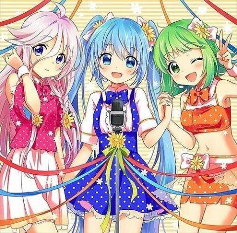 Gumi , Ia et Miku <3 les best