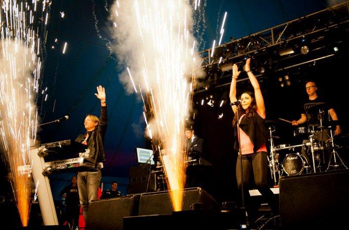 Milk inc live Festival aan zee
