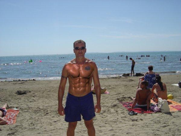 yo a la playa
