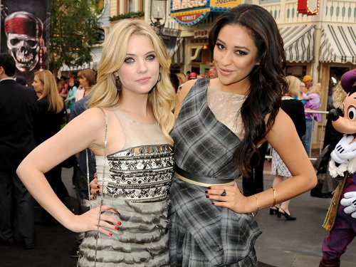 Ashley & Shay a la premiere de Pirates des caraibes