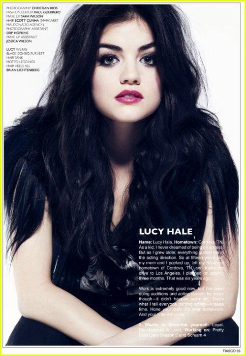 Lucy & Ian dans Fiasco mag