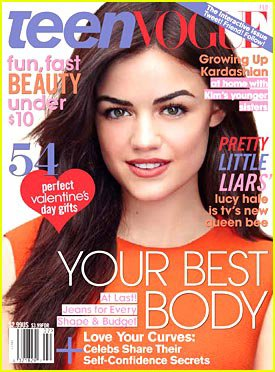 Lucy fait la couverture de Teen Vogue