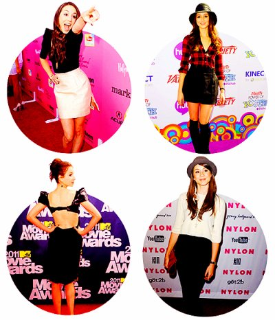 Montage photo de Troian Bellisario