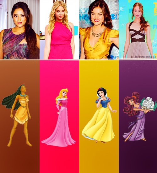 Les pretty little liars chez Disney