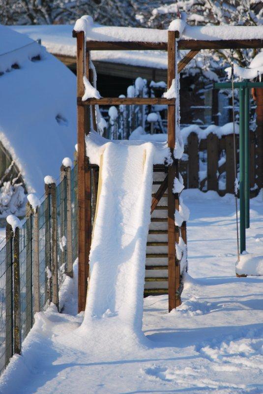 Mon jardin sous la neige (30 cm!!!)