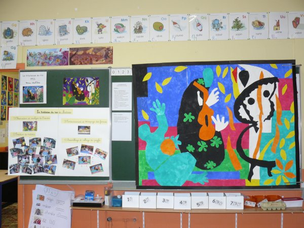 Visite guidée Matisse au cycle 2