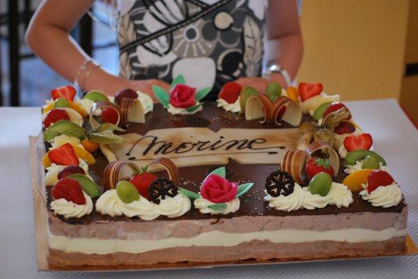 Le mousquetaire... gâteau aux trois mousses au chocolat!