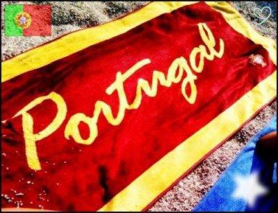 Portugal tout un peuple deriere son drapeau