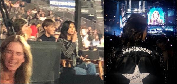 21.09.2018 : Nina était avec Ruby Rose à l'aéroport de LAX à Los Angeles,puis au concert de Taylor Swift !