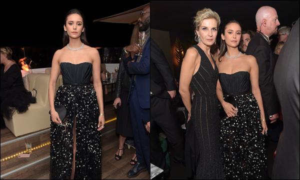 21.05.2019   ▬ Nina Dobrev  s'est rendue à l'after party du film « Once Upon A Time In Hollywood » à Cannes C'est durant cette même journée du 21 mai que l'on retrouve Nina en soirée à Cannes en France , c'est un top