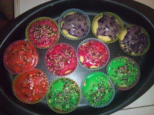 Voici mes Cupcakes !