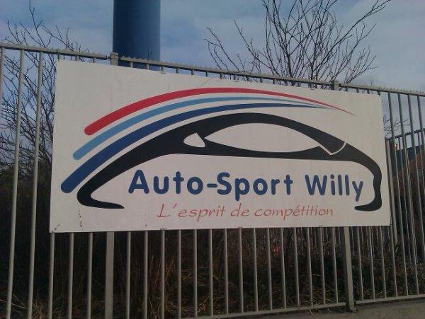 Sortie en belgique à auto sport willy