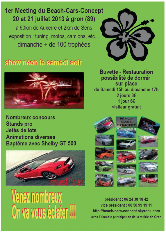 meeting du beach-cars-concept