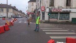 course de vélo ( ville de sens )
