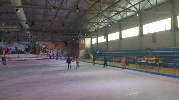 Journée à la patinoire