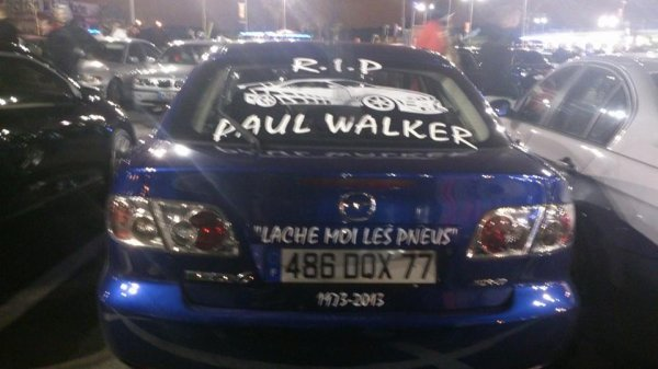 rasso en hommage a Paul walker et roger rodas 3 eme party