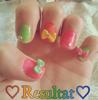 TUTO nails arts Kawaii
