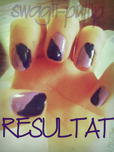 TUTO nails art Sobre mais Classe <3