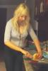 entrain de préparé mon repas hihi