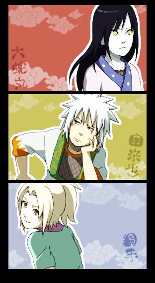 Oro, Jiraya & Tsu