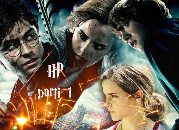 .Voila 3 premières affiches officielle de nos chère acteur ( Harry, Ron et Hermione ) pour 'Harry Potter et les Reliques de la Mort parti 1  .