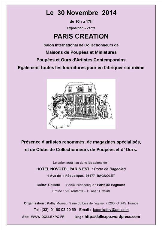 Exposition dimanche 30 novembre