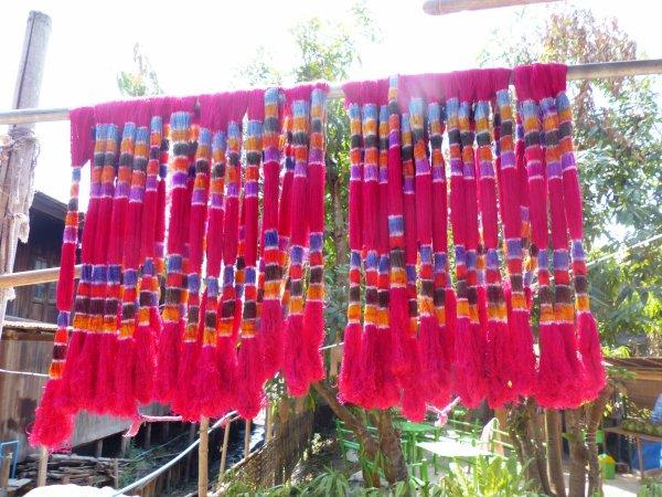 Myanmar 9 : Artisans du fil