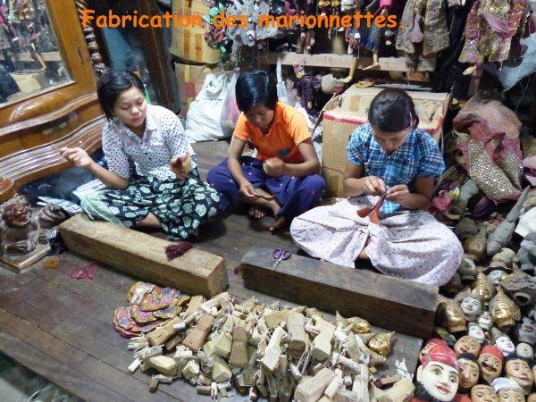 Myanmar 11 : Autres artisans