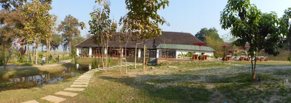 Myanmar 18 : Lac Inlé : Arrivée à l'hôtel Villa Inlé