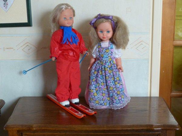 Nancy et Bella les nouvelles arrivées
