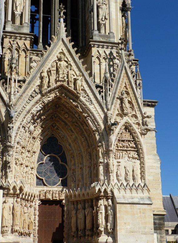 Reims : Cathédrale 1